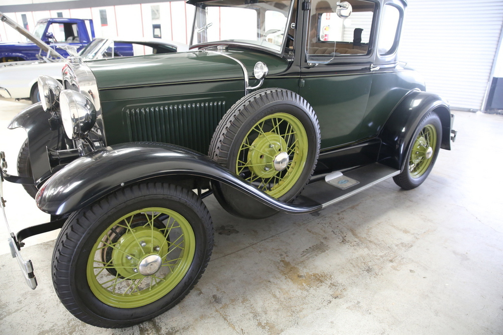 1930 Ford Model A No trim field 2 Door Coupe for sale