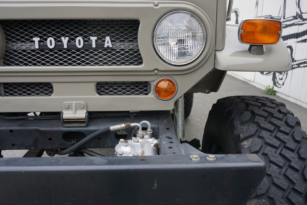 1970 Toyota Land Cruiser No trim field 2 Door Utility for sale