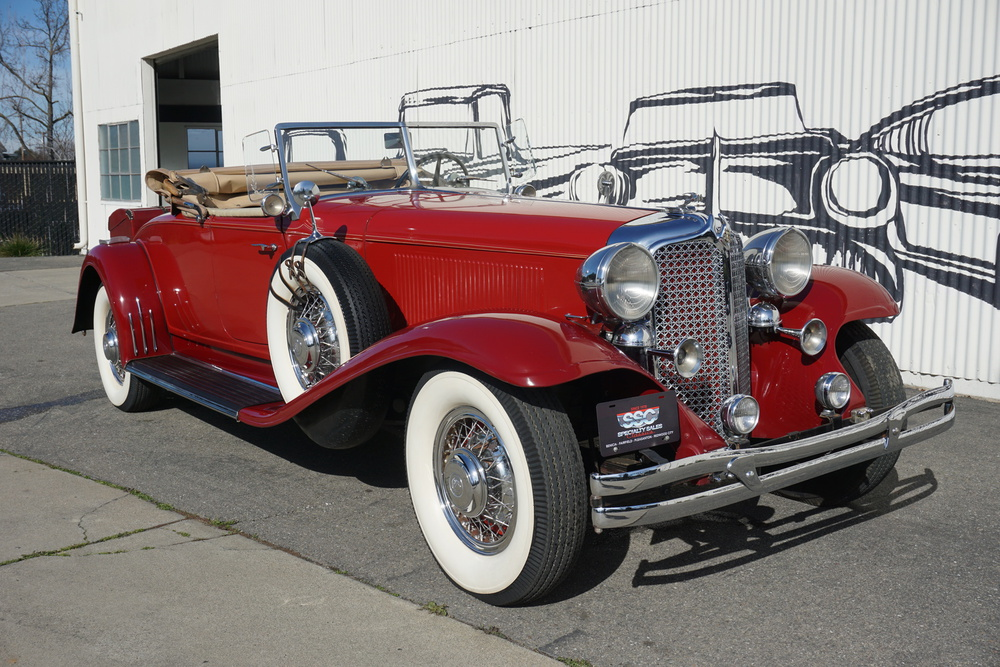 1931 Chrysler Imperial CG No trim field 2 Door Roadster by Lebaron for sale