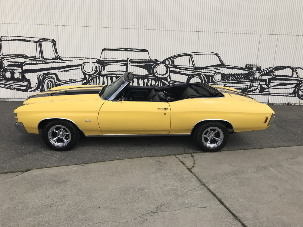 1971 Chevrolet Chevelle Malibu 2 Door Convertible for sale