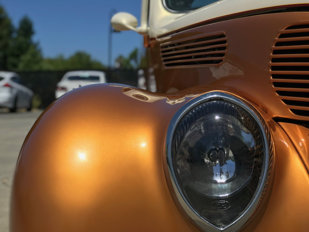 1938 Ford Deluxe No trim field 2 Door Coupe for sale