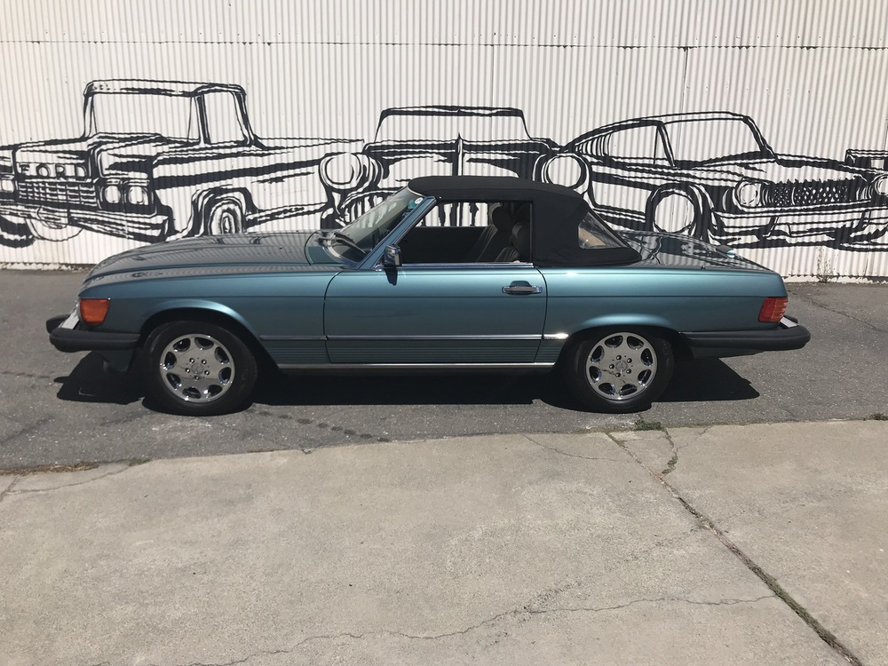 1988 Mercedes Benz 560SL No trim field 2 Door Roadster for sale