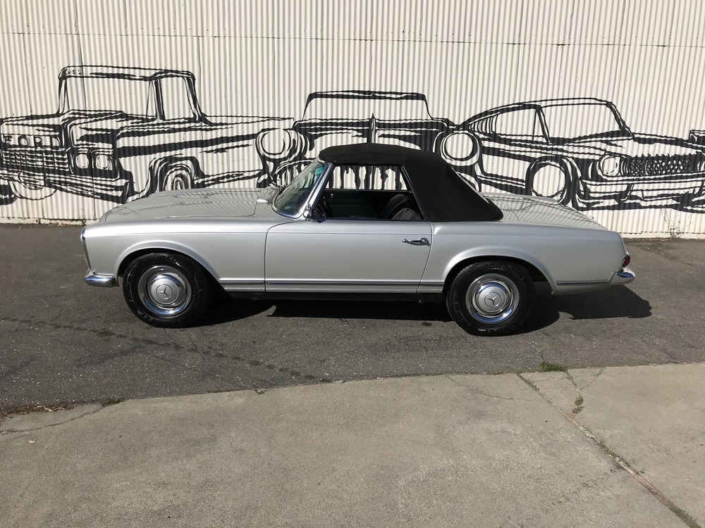 1967 Mercedes Benz 250SL No trim field 2 Door Roadster for sale