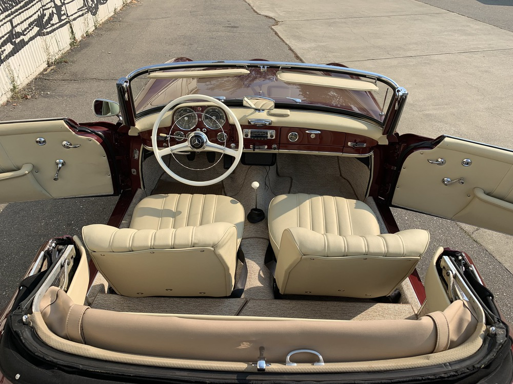 1962 Mercedes Benz 190SL 2 Door Convertible for sale
