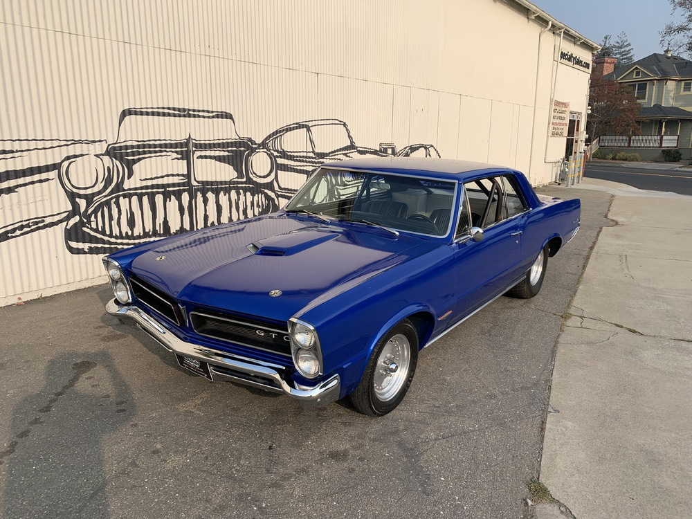 1965 Pontiac Lemans No trim field 2 Door Coupe for sale