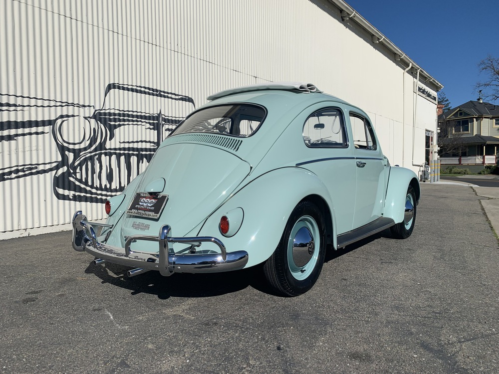 1961 Volkswagen Beetle Ragtop 2 Door Sedan for sale