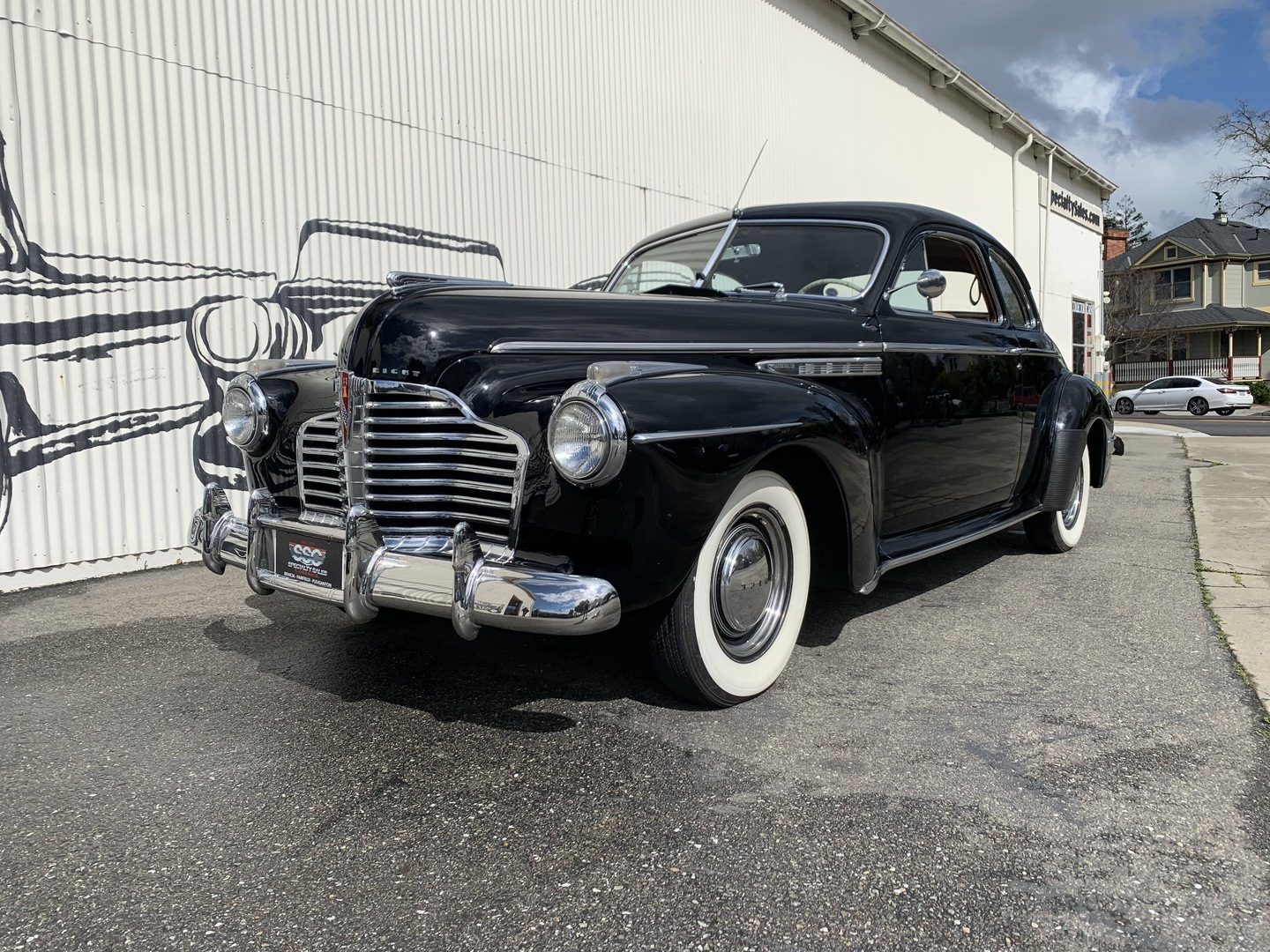 1941 Buick 56S Super Coupe 1941 Buick 56S 23854 Miles Black Coupe
