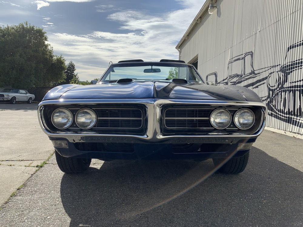 1968 Pontiac Firebird No trim field 2 Door Convertible for sale