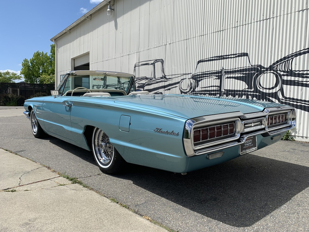 1965 Ford Thunderbird No trim field 2 Door convertible for sale