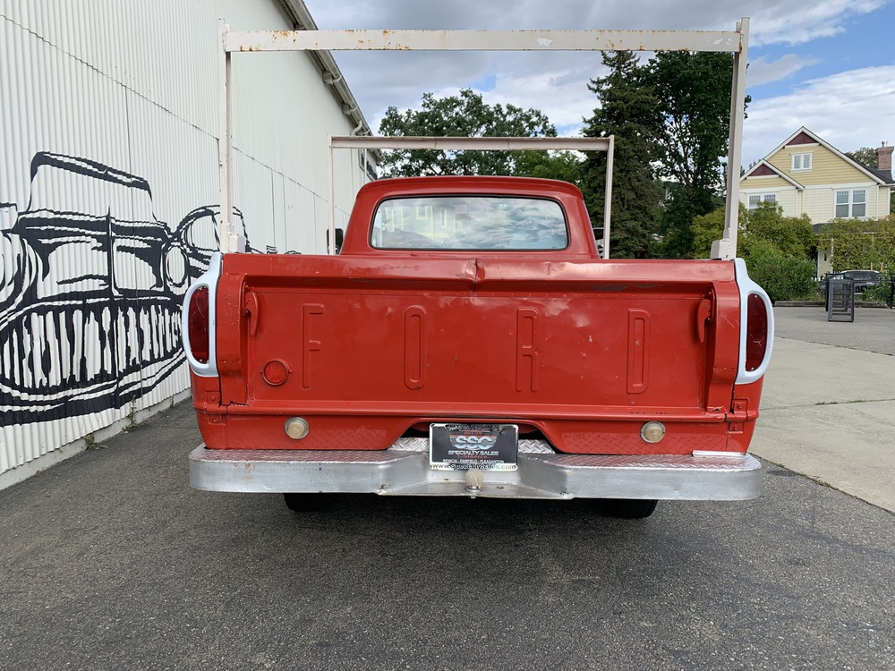 1962 Ford F100 1/2 Ton Unibody 2 Door Pick-up for sale