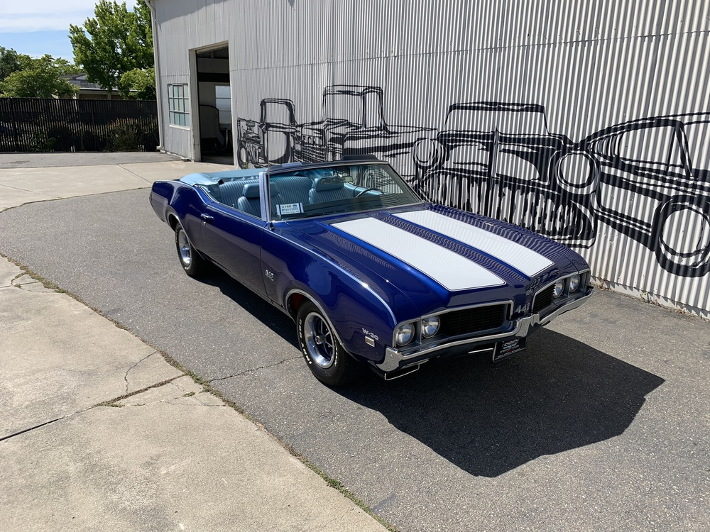 1969 Oldsmobile 442 W30 2 Door Convertible for sale
