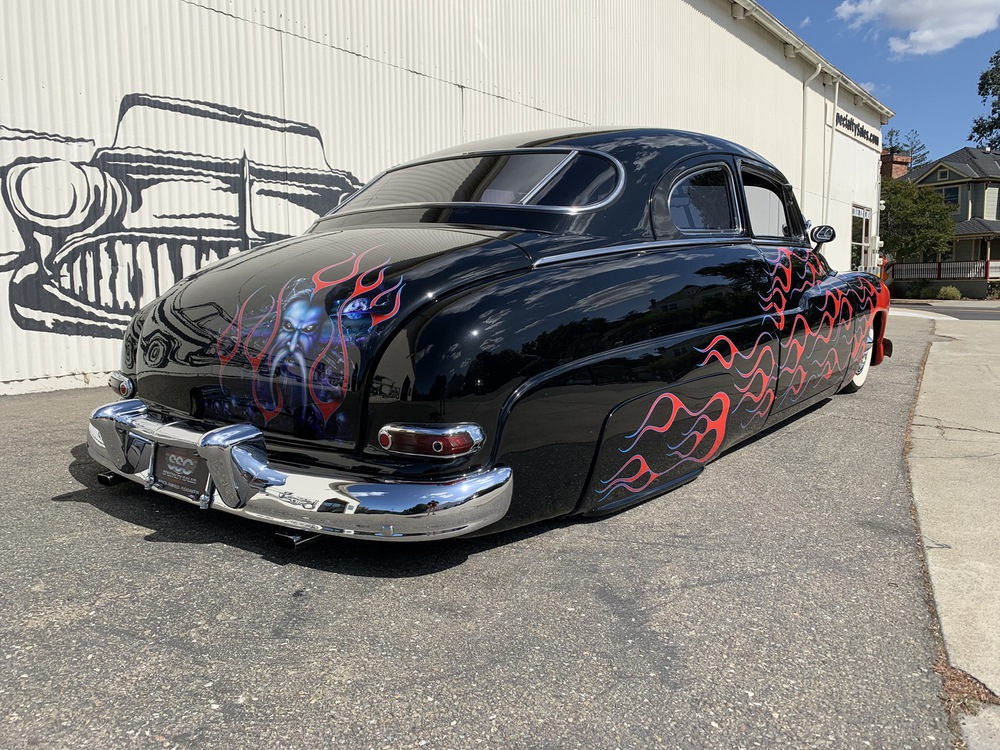 1950 Mercury Lead Sled No trim field 2 Door Coupe for sale