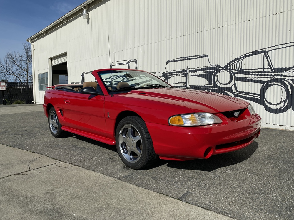 1994 Ford Mustang Cobra - Indy Pace Car 2 Door Convertible for sale