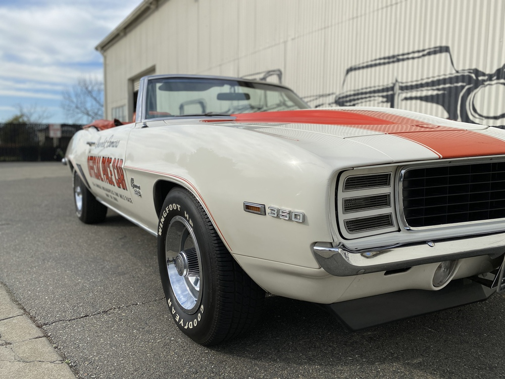 1969 Chevrolet Camaro RS/SS Z11 Pace Car 2 Door Convertible for sale