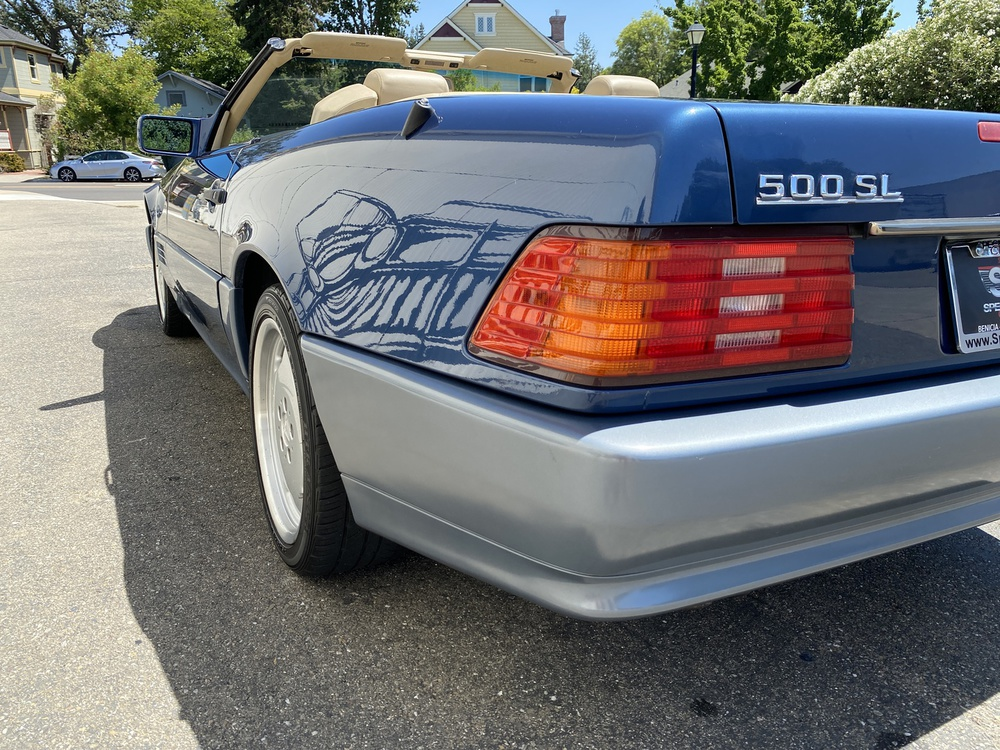 1991 Mercedes Benz 500 SL 2 Door Roadster for sale