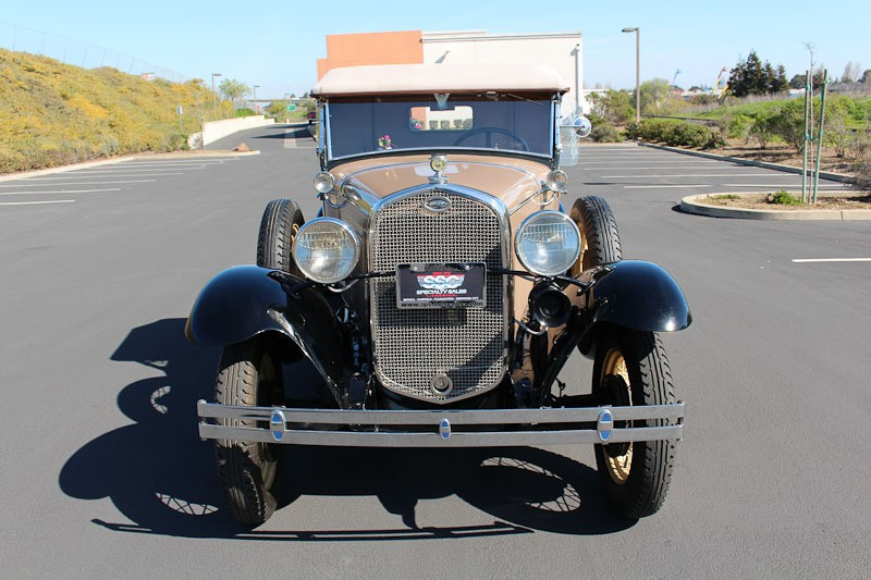 1931 Ford Model A No trim field 2 Door Roadster for sale