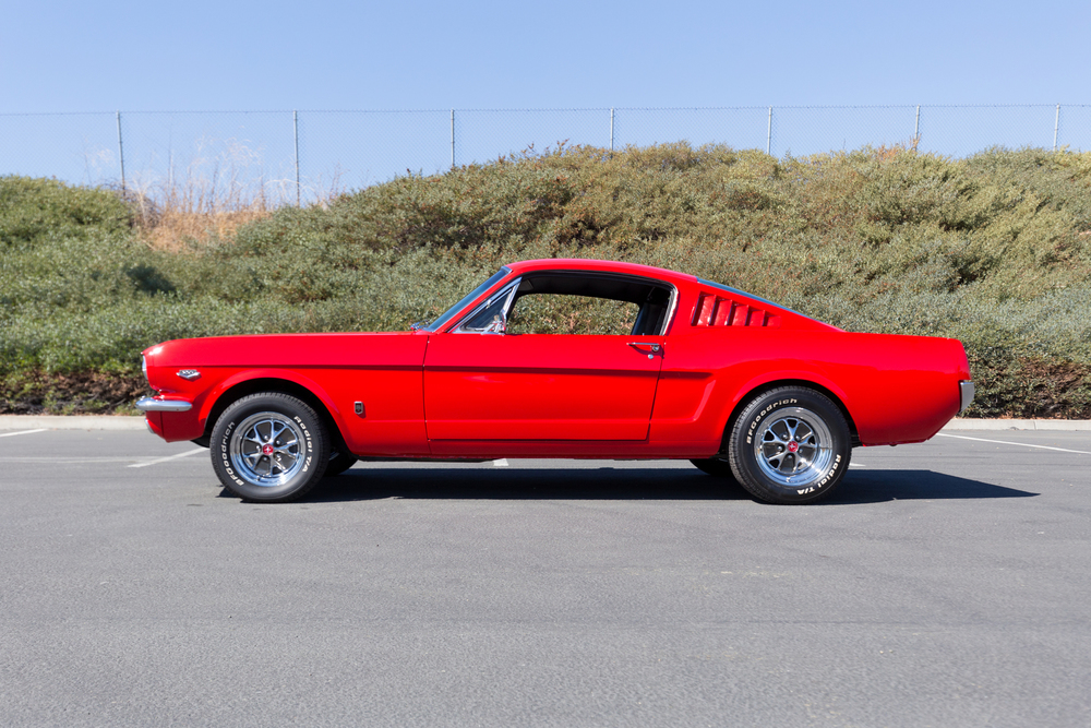 1965 Ford Mustang No trim field 2 Door Fastback Coupe for sale