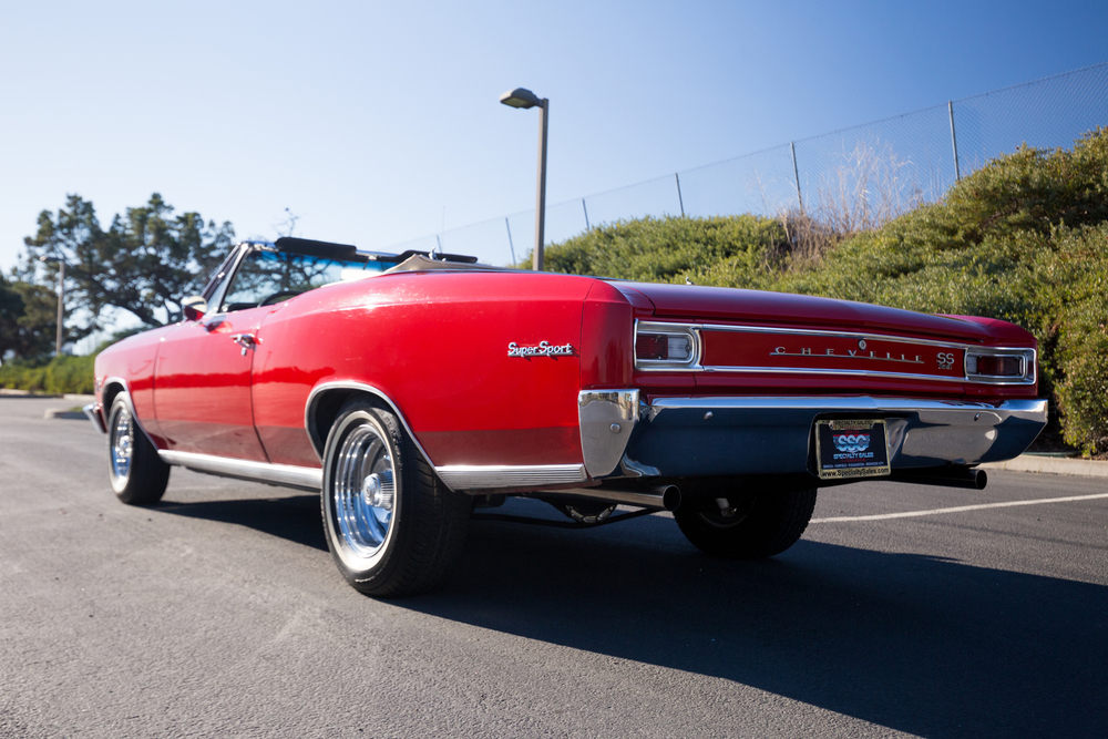 1966 Chevrolet Chevelle Malibu SS 2 Door Convertible for sale