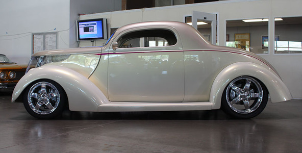 1937 Ford Model 74 Tudor 2 Door Sedan for sale