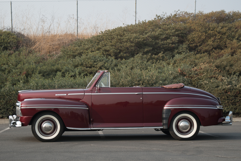 1947 Mercury Model 76 No trim field 2 Door Convertible for sale