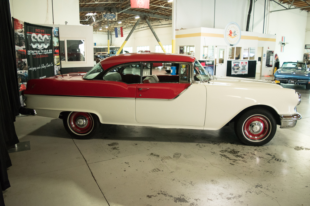 1955 Pontiac Chieftain No trim field 2 Door Hardtop for sale