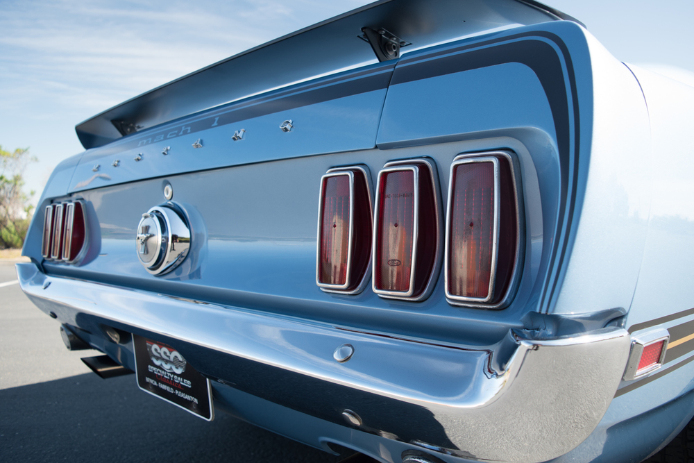 1969 Ford Mustang Mach 1 2 Door Fastback for sale