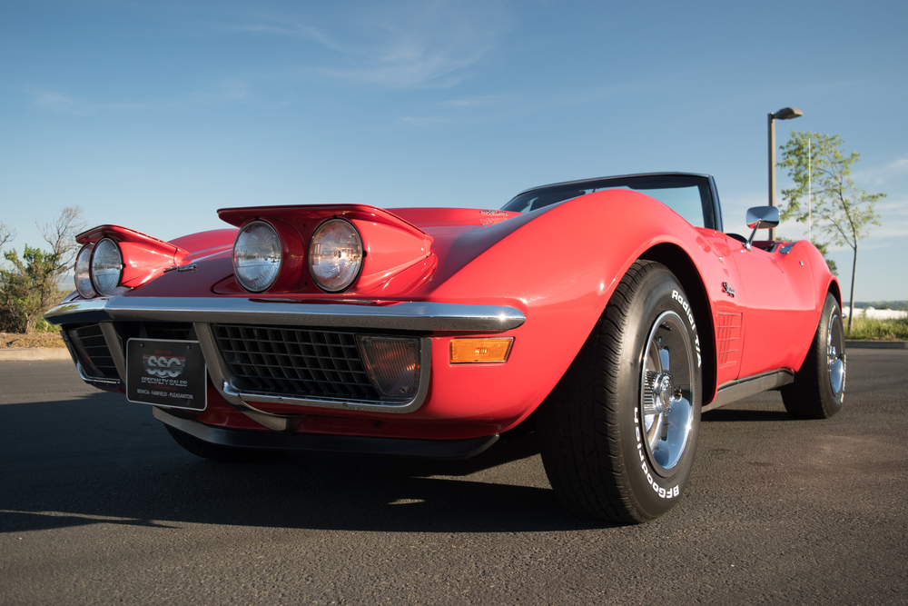 1971 Chevrolet Corvette No trim field 2 Door Convertible for sale
