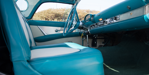 1956 Ford Thunderbird No trim field 2 Door Hardtop W/Removable for sale