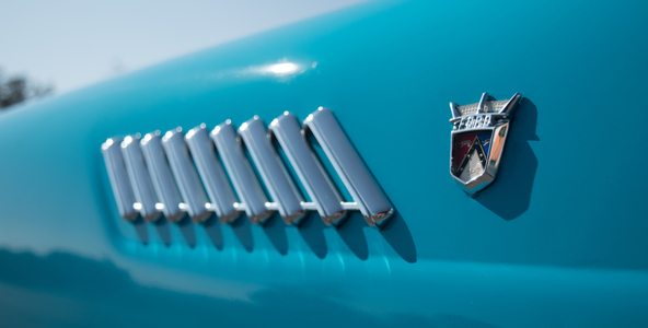 1956 Ford Thunderbird 2 Door Hardtop W/Removable for sale