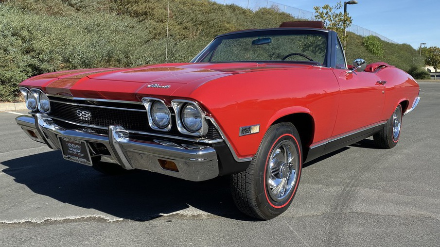 1968 Chevrolet Chevelle Super Sport 2 Door Convertible for sale