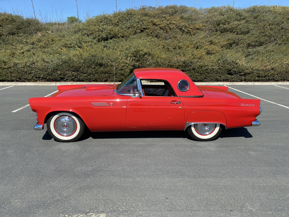 1955 Ford Thunderbird 2 Door Coupe w/ Removable Hardtop for sale