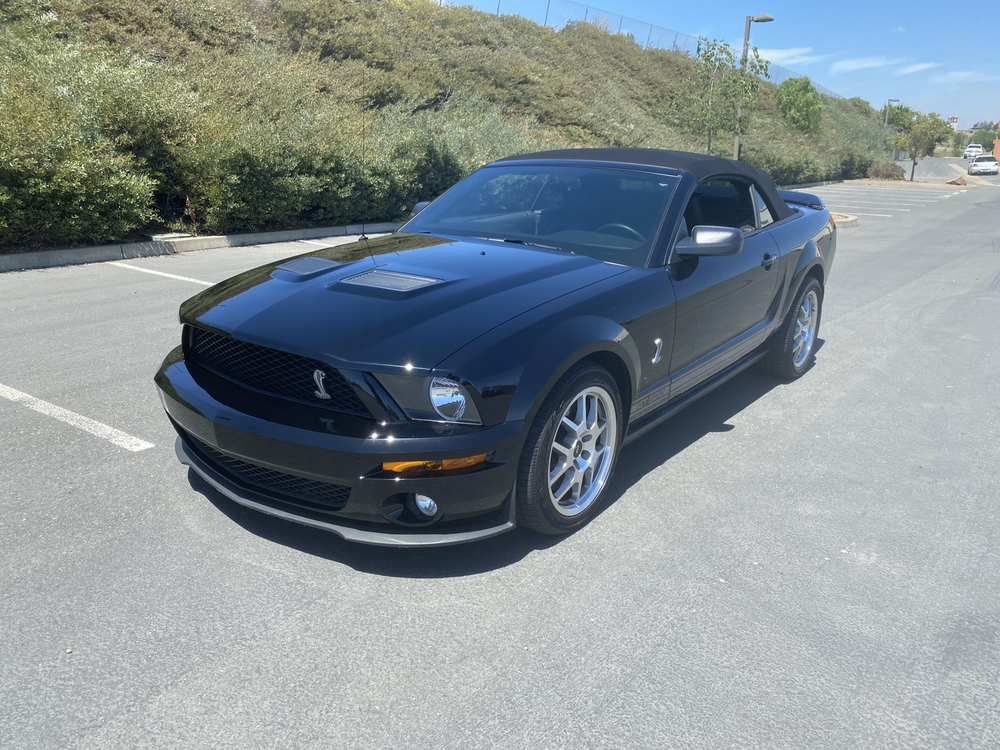 2007 Ford Shelby GT500 2 Door Convertible for sale