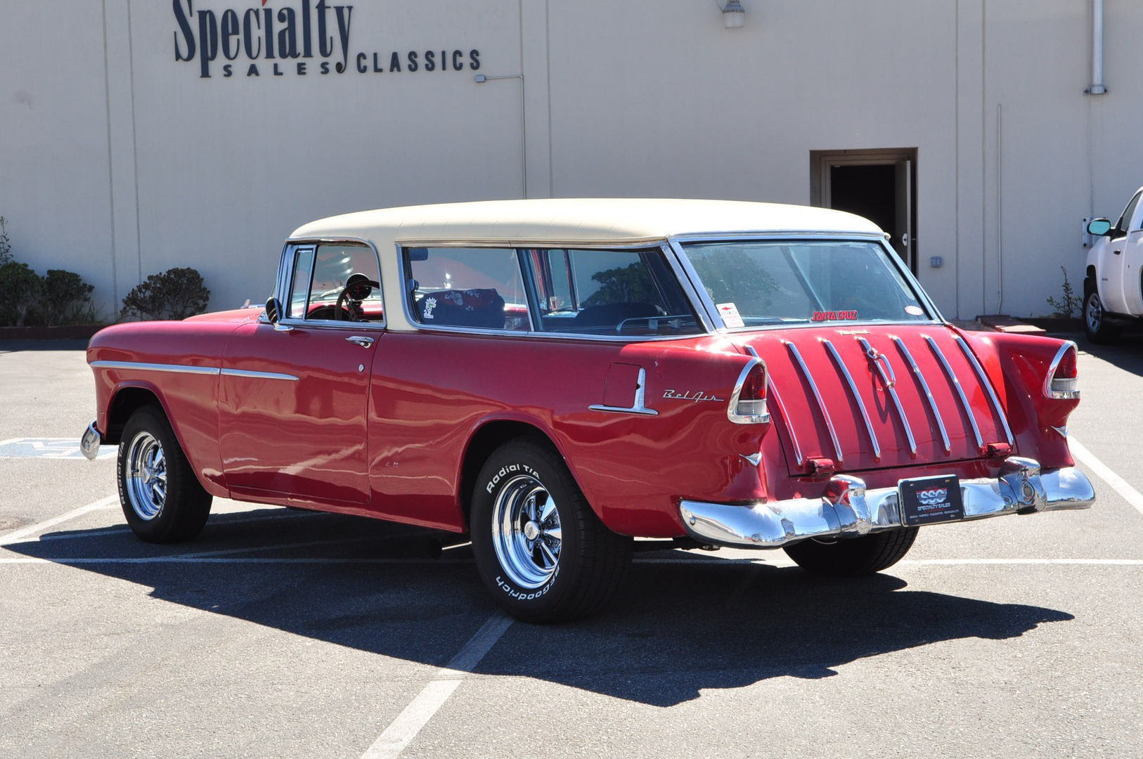Chevrolet Vehicles Specialty Sales Classics 1957 Chevy Station Wagon 1955 Bel Air Nomad 2 Door For Sale