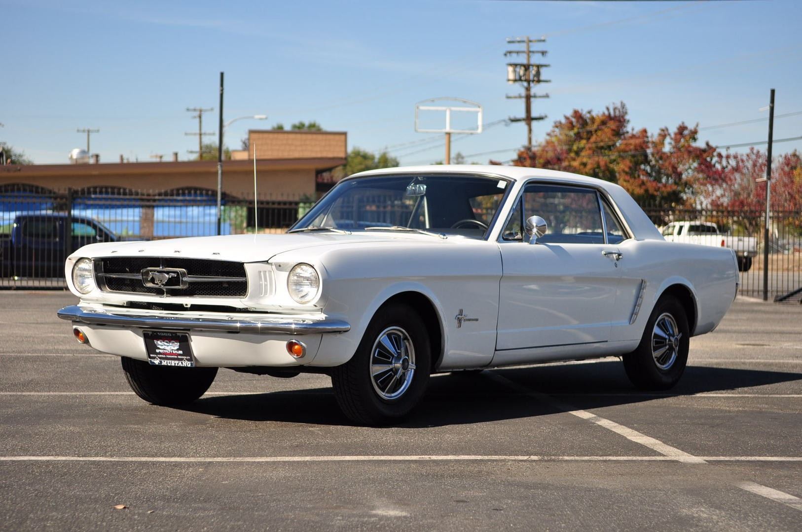 1965 ford mustang no trim field 2 door hardtop for sale