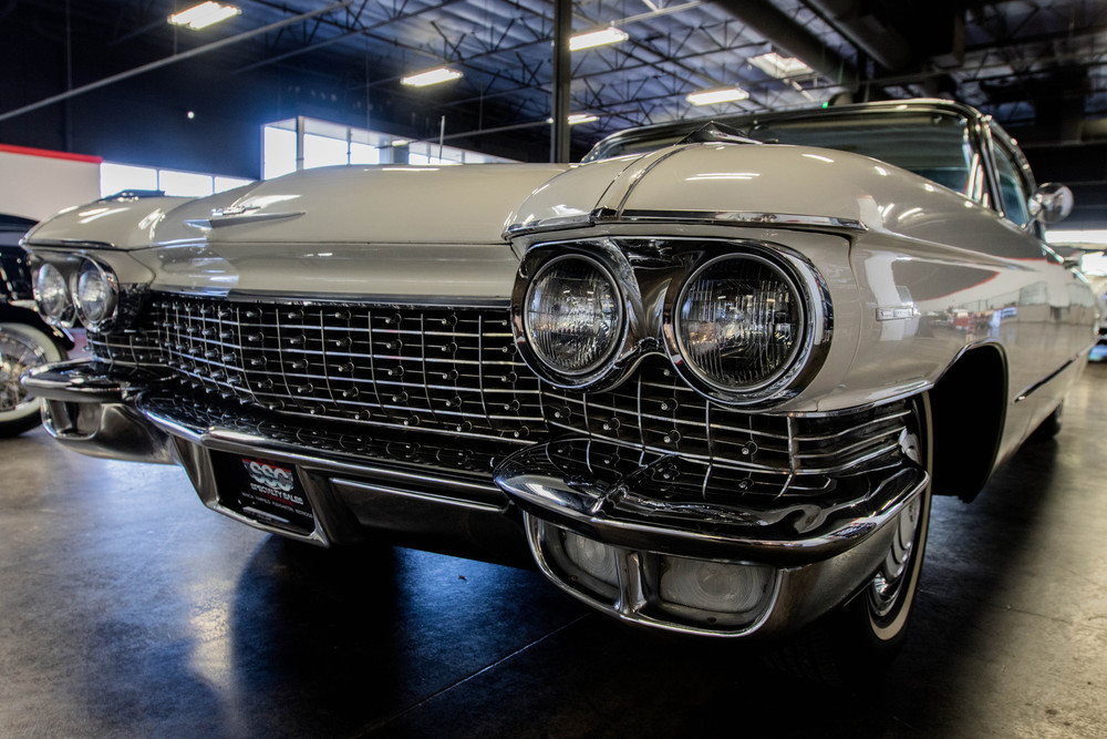 1960 Cadillac 62 No trim field 2 Door Coupe for sale