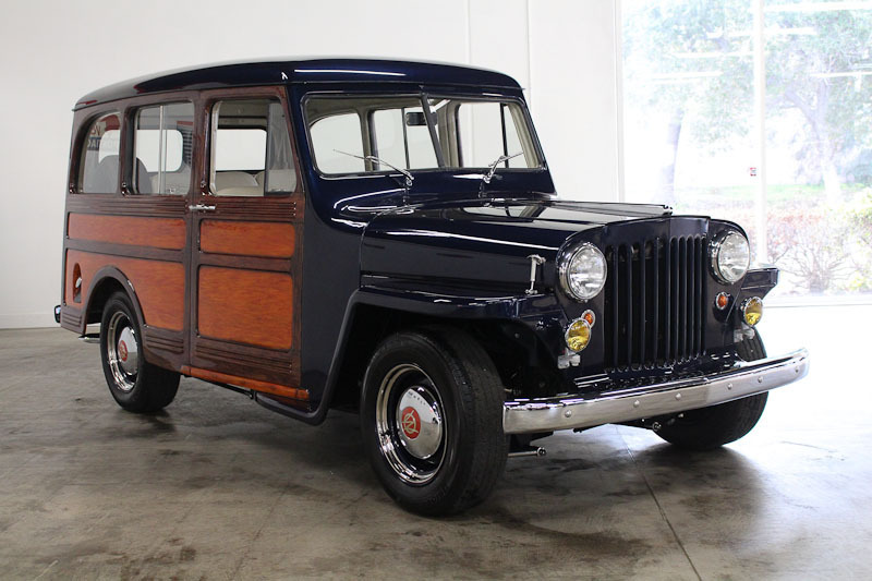 1950 Jeep Willys No trim field 2 Door Wagon for sale