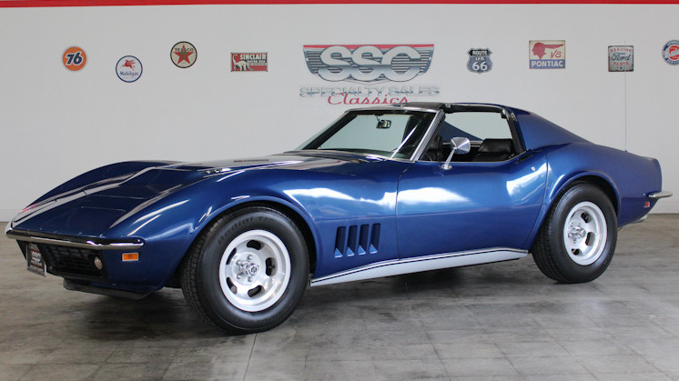 1969 Chevrolet Corvette No trim field 2 Door Coupe for sale