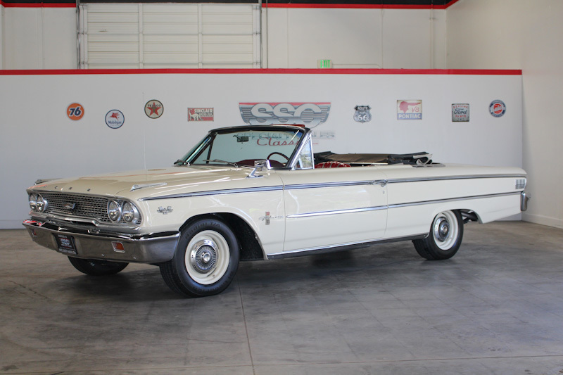 1963 Ford Galaxie 500 XL No trim field 2 Door Convertible for sale