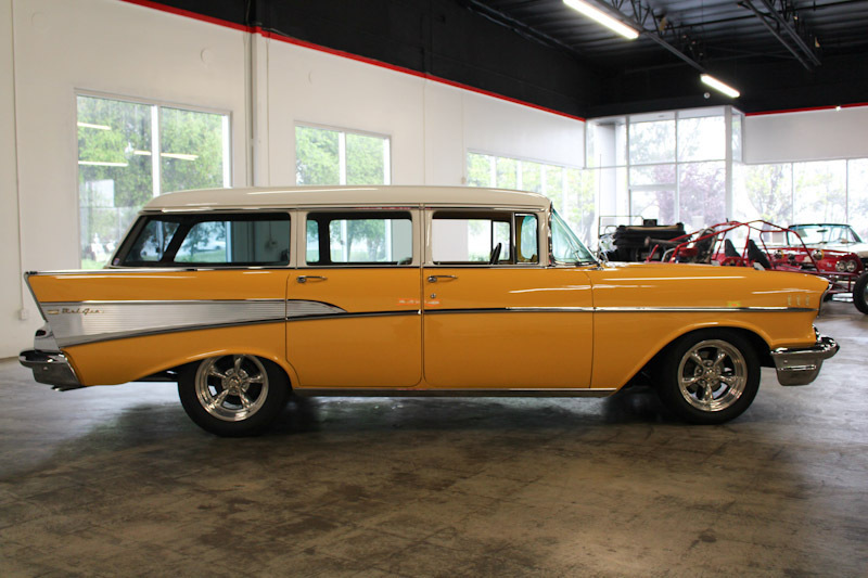 1957 Chevrolet Bel Air No trim field 4 Door Station Wagon for sale