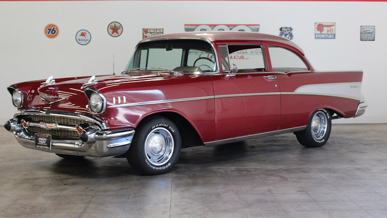 1957 Chevrolet 210 No trim field 2 Door Sedan for sale