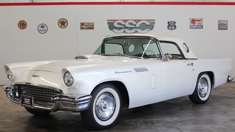 1957 Ford Thunderbird 2 Door w/Removable Hardtop for sale