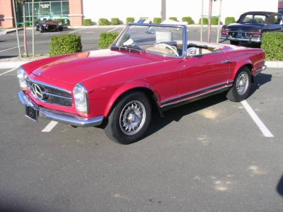 1966 Mercedes Benz 230SL 2 Door Convertible for sale