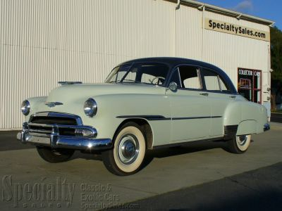 1951 Chevrolet Styleline Deluxe 4 Door Sedan (SOLD) & Chevrolet - Vehicles - Specialty Sales Classics